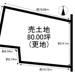 ◆中津川市茄子川 80坪宅地♪